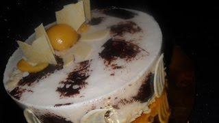 Торт Ароматный персик  Пошаговый рецепт с фото