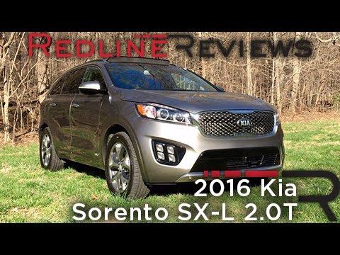 2016 Kia Sorento SX-L 2.0T – Redline: Review
