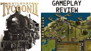 Railroad Tycoon II Gameplay Review PC HD