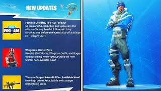 New FREE EPIC skin FOR PS PLUS (blue striker) + new FREE back bling [fortnite battle royale]