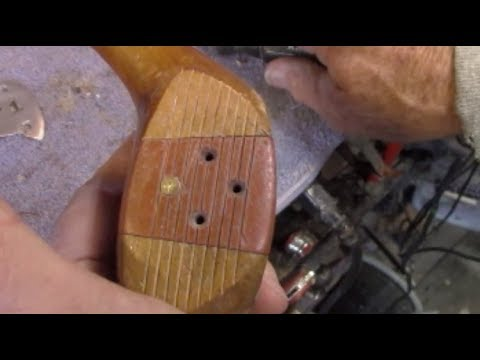 Golf Club Restoration and Persimmon Refinishing / Reconstruction  Part 3