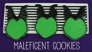 How to Make Maleficent Cookies!