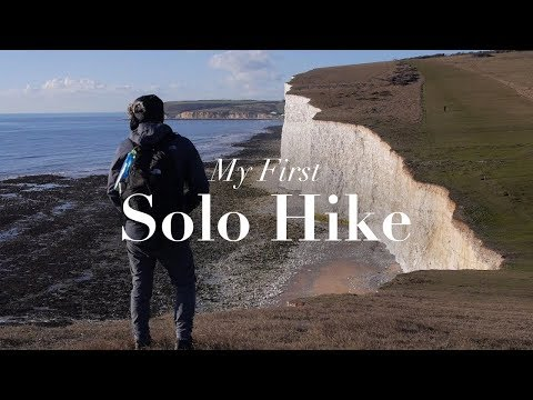 MY FIRST SOLO HIKE | EASTBOURNE TO SEAFORD