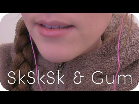 ASMR Ear-to-Ear Gum Chewing – sksksk/ksksks – Ear Touching – No Speaking