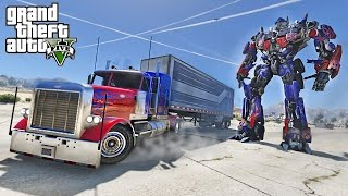 OPTIMUS PRIME DRIFT TRUCK - GTA 5 TRANSFORMERS MOD !!!(CAN WE DRIFT OPTIMUS PRIME TRUCK?! LETS TRY IT WITH THIS TRANSFORMERS MOD! ▻ Subscribe for more top notch videos!, 2017-01-14T23:00:03.000Z)