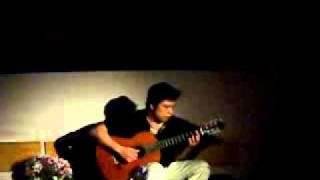 Ướt Mi - Trịnh Công Sơn - Tuấn Khang Solo Guitar.avi