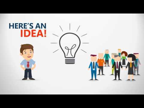 Create an animated business clip using Powerpoint