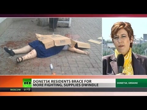 Donetsk residents fear more violence
