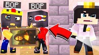 МЫ С АИДОМ УКРАЛИ КАРТИНУ МОНА ЛИЗА ИЗ ЛУВРА Minecraft ограбление века