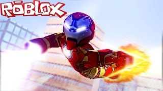 IRONMAN IN ROBLOX! (Roblox Superheroes)