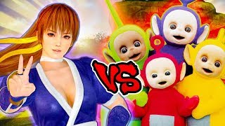 Honoka Vs Teletubbies - Epic Battle - Left 4 dead 2 Gameplay (Left 4