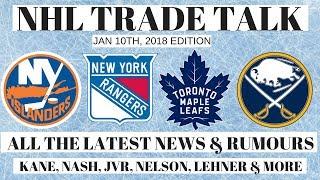 NHL Trade Talk - Leafs, Islanders, Sabres & Rangers