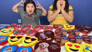 Don't Choose the wrong Valentines Slime Challenge