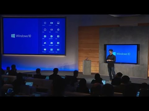 is the windows 10 the next Windows 10: a new generation of windows  unveiled a new generation of windows,  the next technical preview for windows 10.