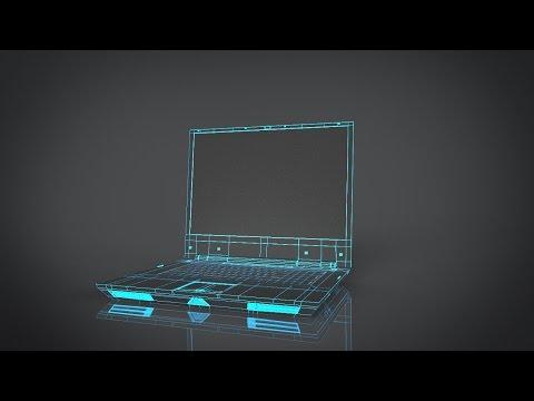 Rendering wire frame in keyshot