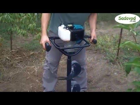 Мотобур бензиновый Sadko AG-52 (шнек 250 мм)