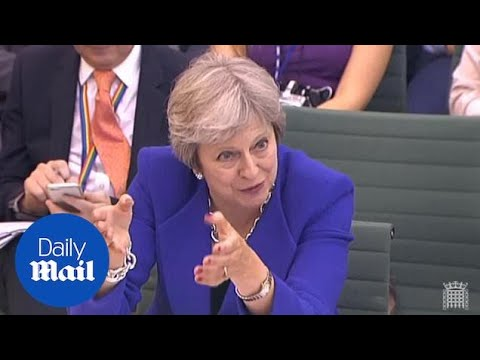 Yvette Cooper questions PM on