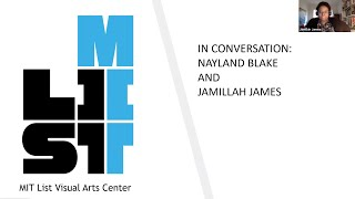 In Conversation: Nayland Blake and Jamillah James