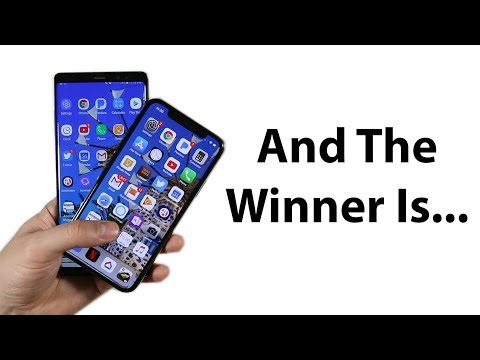 Download Youtube: NEW iPhone X vs Note 8 speed test!