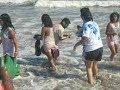 Beautiful sea bathing  hot scine  inn Digha sea beach