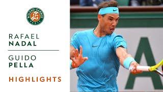 Rafael Nadal vs Guido Pella - Round 2 Highlights I Roland-Garros 2018