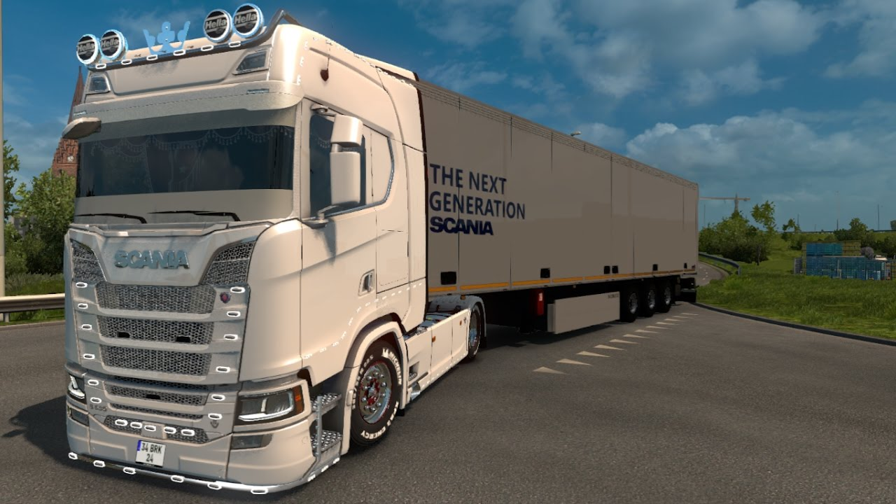 scania s580 tuning scania new generation trailer. Black Bedroom Furniture Sets. Home Design Ideas