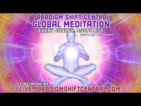 Sunday Guided Global Meditation (10/07/18)