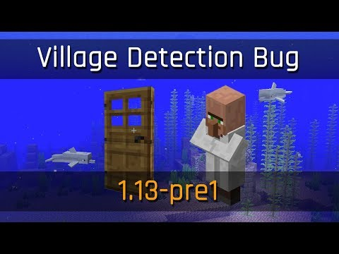 Village Detection Bug | Minecraft 1.13