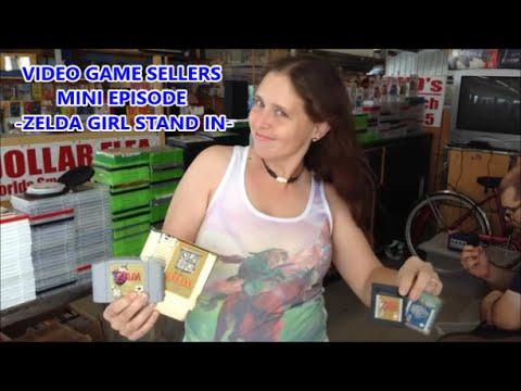 video-game-sellers---mini-episode---zelda-girl-stand-in-|-scottsquatch