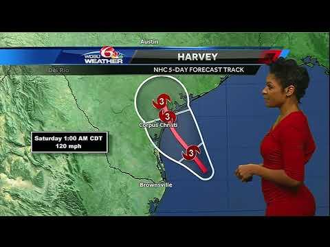 Friday: Keep an eye on Harvey through the weekend
