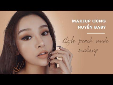 Makeup Cùng Huyền Baby-Style Peach Nude Makeup