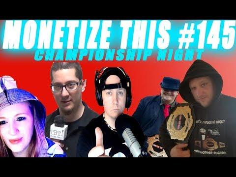 MONETIZE THIS ! #145 Championship Night ! Kodak Black Arrested ! Tom Brady Injury - Aly Raisman