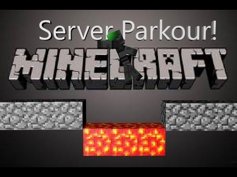 Minecraft parkour: MinecraftUniverse server part 1