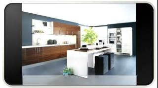 The Blue Modern Kitchen