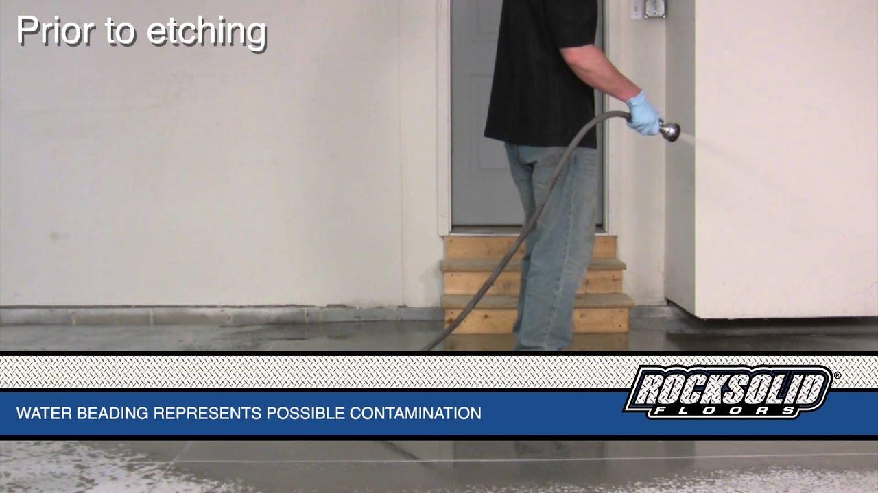 RockSolid Floors Garage Prep  YouTube