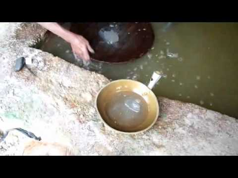 Gold Extraction Process Using Mercury