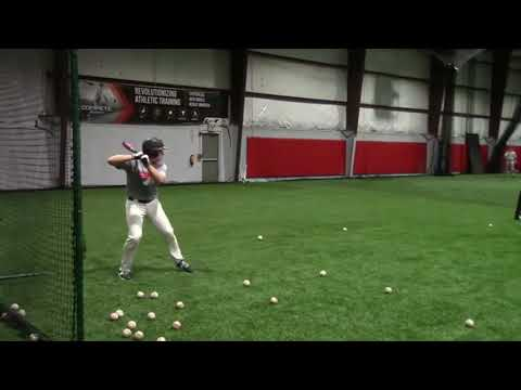 Jack Fitzgerald Hitting and Catching - Feb 2018