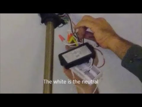 Replace A Bad Ceiling Fan Remote Control With Universal Remote
