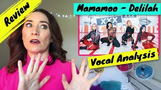 Singing Teacher Reacts Mamamoo - Delilah | WOW! They are...