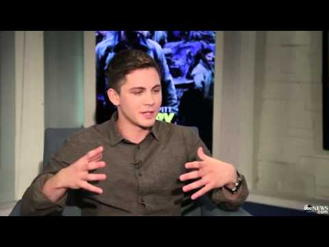 Logan Lerman: 'We'd Put On The Gloves And Just Go At It'