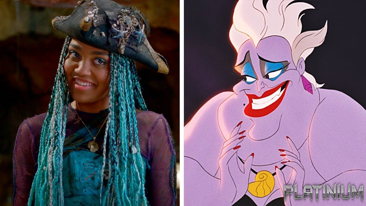 Descendants 1 And 2 Parents And Children Of Disney Villains And Heroes Youtube