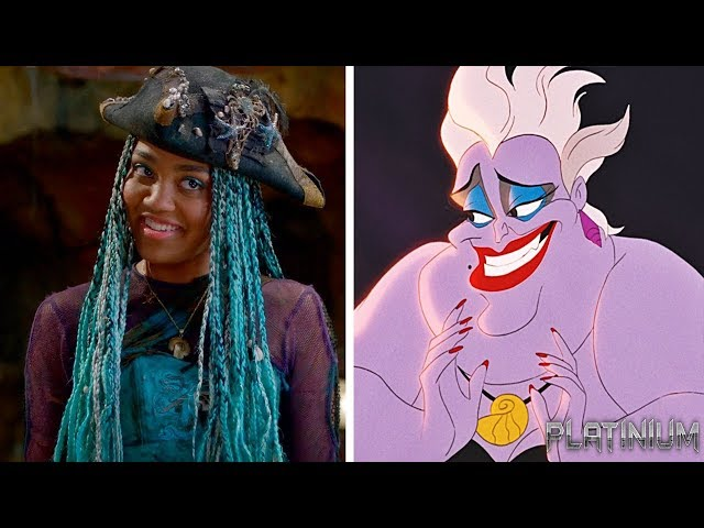 Descendants 1 and 2 Parents and Children of Disney Villains and Heroes