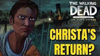 "The Walking Dead:Season 4 Episode 4 ""Take us Back"" Christa"