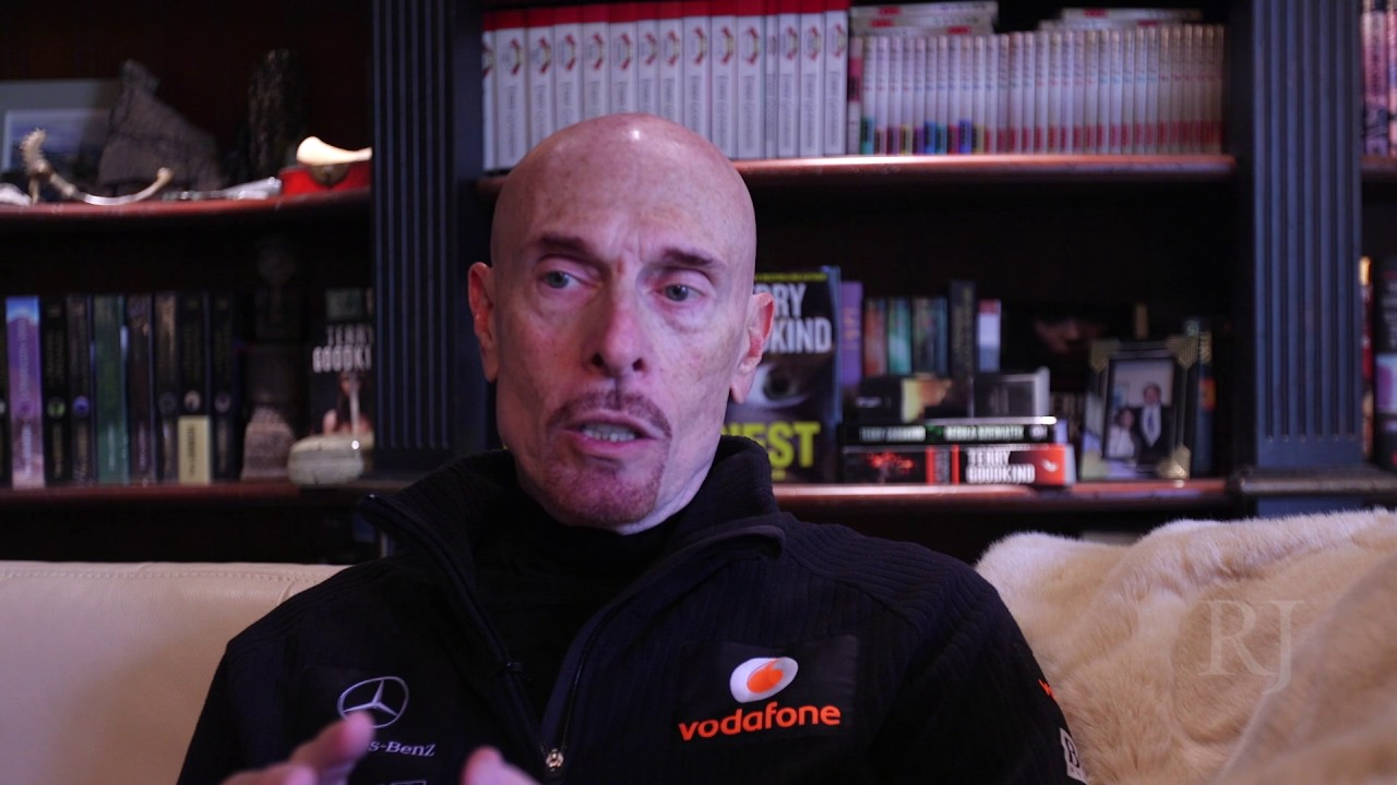 Terry Goodkind Discusses Writing, New Book Nest - YouTube