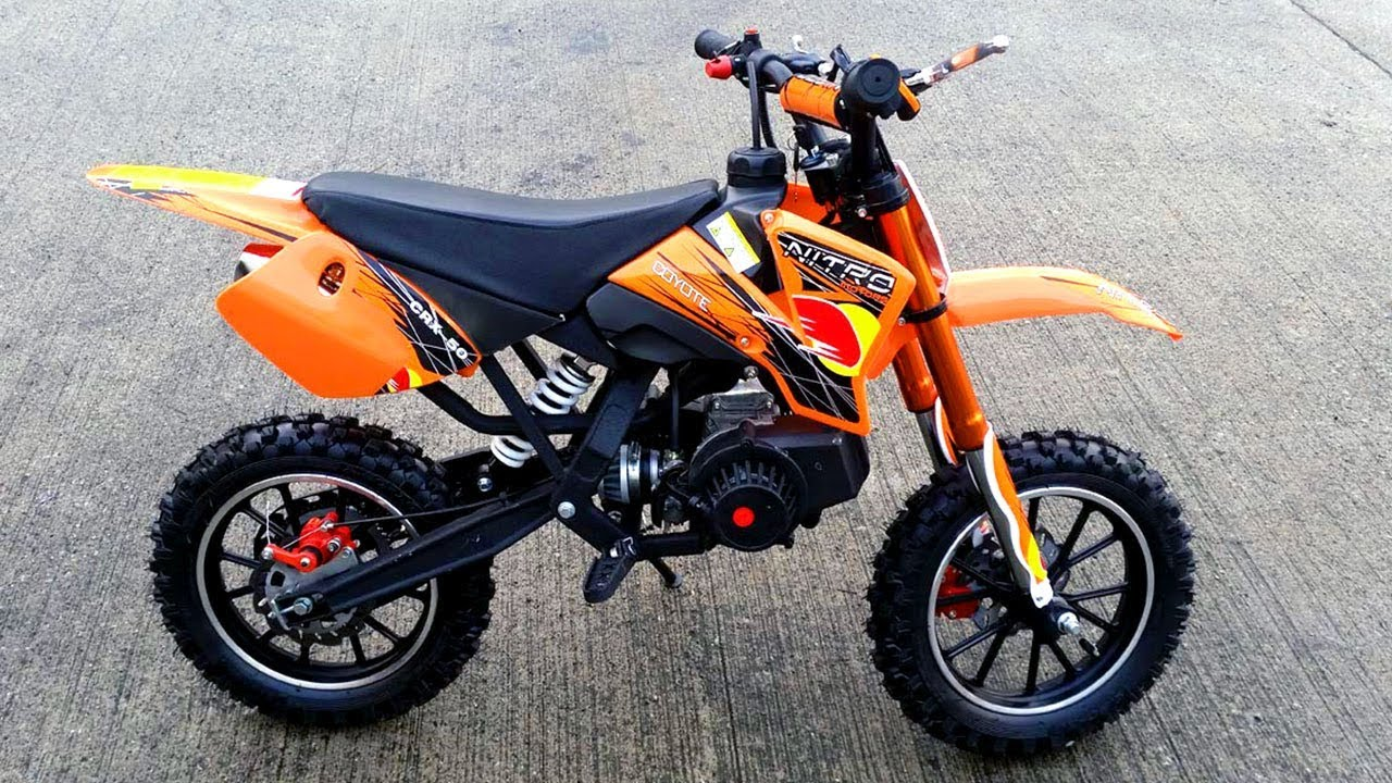 dbb8a80e9d9c7 Fastest 50cc Pocket Bike Dirt Bike !! - Coyote 49cc from Nitro ...
