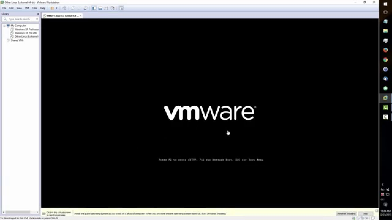 Manjaro 15 12 XFCE VMware Installation With Guest Additions
