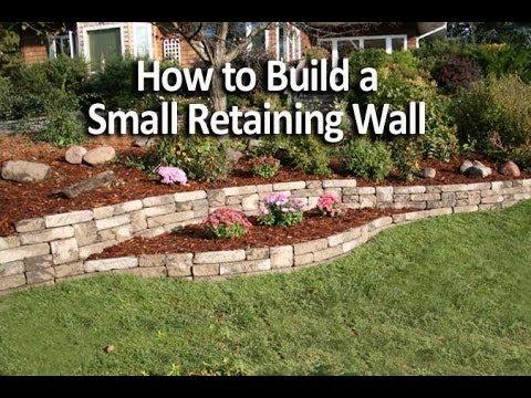 build small retaining