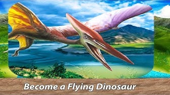 Jurassic Pterodactyl Simulator - be a flying Dinosaur!-Юрский птеродактил-By Wild Animals World