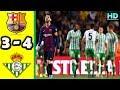 BARCELONA 3-4 REAL BETIS | All Goals & Highlights La Liga 11 November 2018