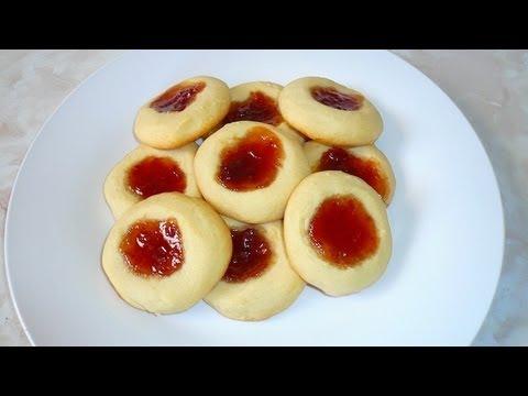 Galletas de Mantequilla con Mermelada - Receta